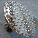 Euro 5 inch Brass Shower Heads