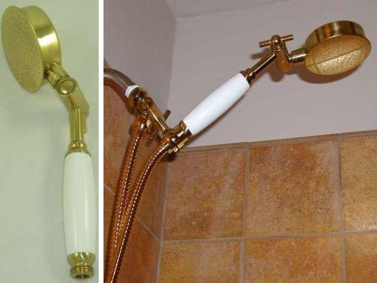 Aussie Brass Handheld Shower head Sets | Strong Pressure Hand Held
