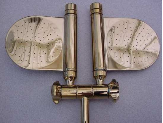 dual paddle rain shower shower head shower