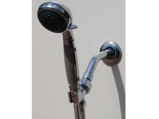 5 Setting with Non-Slip Grip Massage Hand shower Set
