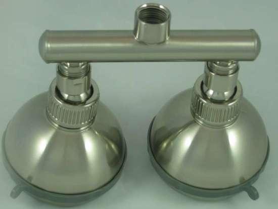 Dual Shower Heads - 5 Step Massage Shower Heads