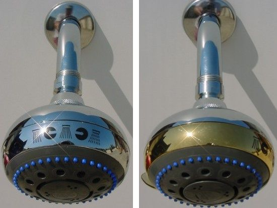 ISA Massage Shower Heads from Italy