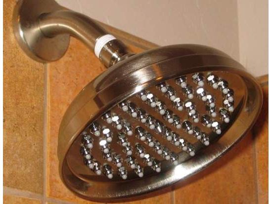 """6"""" All Brass Luxury Showerhead"""