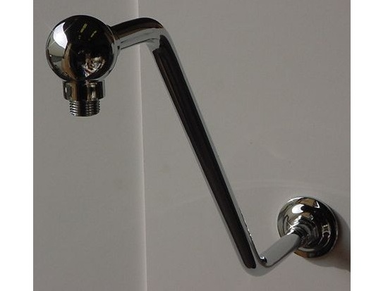 Riser/Extender Brass Shower Arm