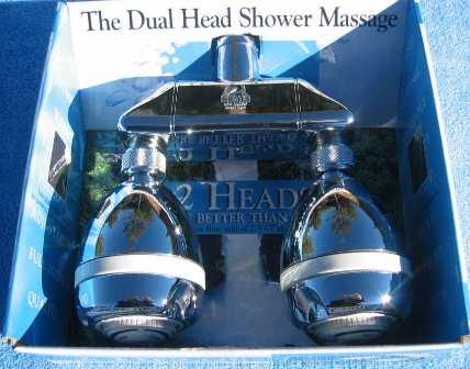 DSA Dual Head Shower Head System