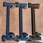 Locking Brass Extension Arms