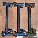 Locking Brass Extension Arms