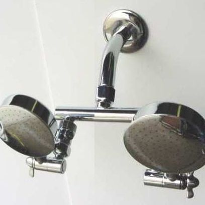 Dual Shower Heads - Aussie RainShower Shower Heads