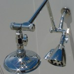 Dual Arms with Deluxe Shower Heads