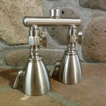 Dual Shower Heads - Giessdorf 6 Jet Shower Heads