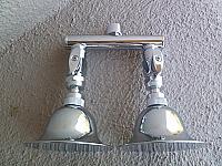 Dual Shower Heads - Bell RainShower Shower Heads